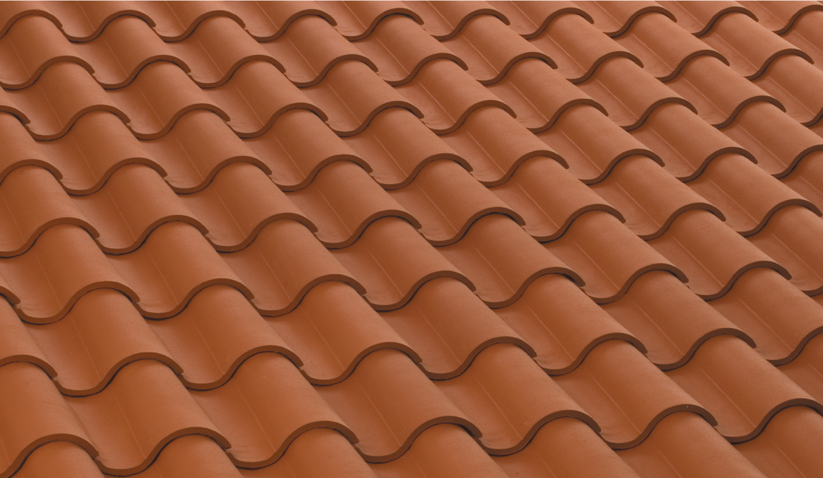 First the roof, then the roof tile.